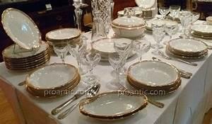 Service De Table Porcelaine : service de table en porcelaine de limoges porcelaines anciennes ~ Teatrodelosmanantiales.com Idées de Décoration