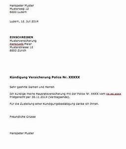 Wohnung Kündigen Per Email : k ndigung versicherung vorlage word muster ~ Lizthompson.info Haus und Dekorationen