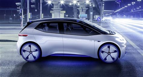 volkswagen  commence id hatchback production