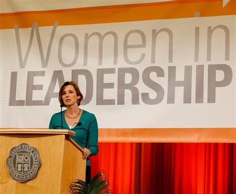 women  leadership fall