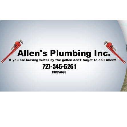 allen s plumbing allen s plumbing inc in st petersburg fl 33714