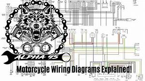 Motorcycle Wiring Diagrams Explained  Quick And Easy Guide