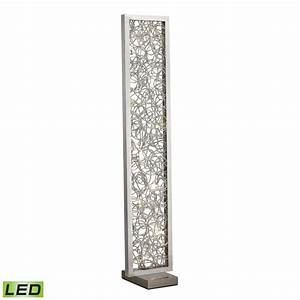 Hampton bay led mother daughter floor lamp the home for Led floor lamp home depot