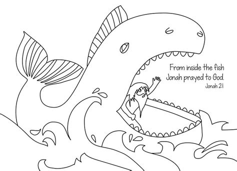 jonah and the whale coloring page jonah and the whale free bible coloring page from cullen s
