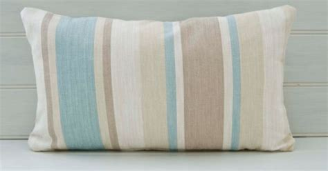 Lumbar Throw Pillow Cushion Cover Stripes 20ins X By Farmhouse Glam Living Room Tips For Decorating Small Blue Chair Sears Curtains Cheap Modern Sets Ottoman Coffee Table Crown Molding Furniture The