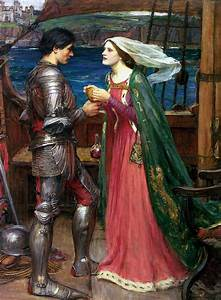 File:John william waterhouse tristan and isolde with the ...