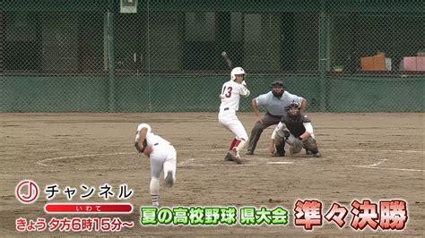 岩手 朝日 テレビ 高校 野球 ネット 中継