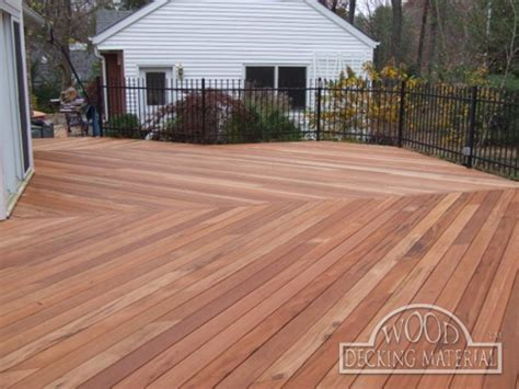 Tiger Wood Decking by Decking Materials Tigerwood Decking Material