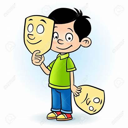 Clipart Actor Drama Acting Clip Mask Play