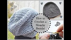 how to crochet a slouchy beanie ms craft