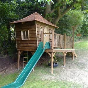 Kids Tree House with Slide