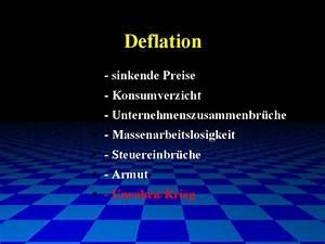 Auswirkungen Einer Deflation : hier ein beispielseminar von g nter hannich in kompakter ~ Lizthompson.info Haus und Dekorationen