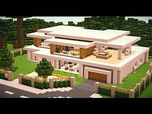 Modern House #010 Minecraft Project