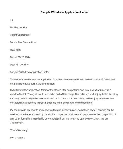 application letter templates samples