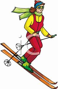 Downhill Skiing Clipart - Clipart Suggest