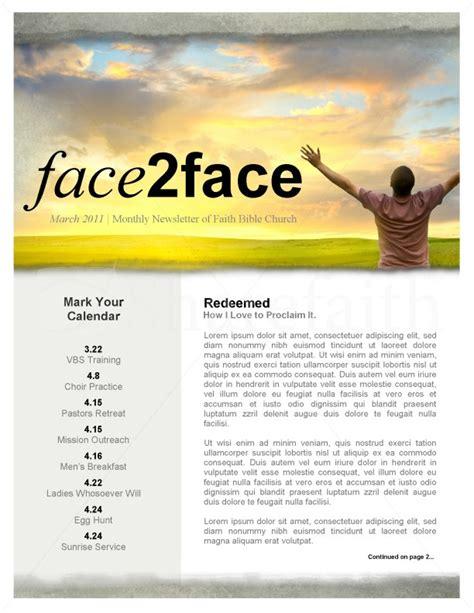 church newsletter templates worshipper church newsletter template