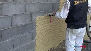 Machine A Projeter Enduit Facade : comment enduire un mur en parpaing ~ Dailycaller-alerts.com Idées de Décoration