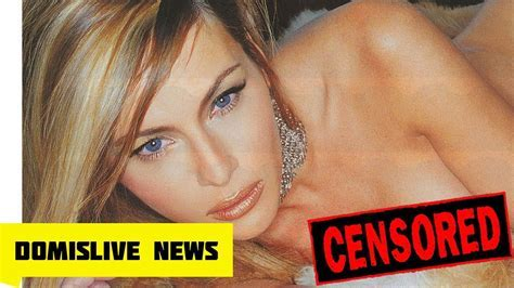 Melania Trump Nudes Are Sent To Her Donald Trump Over