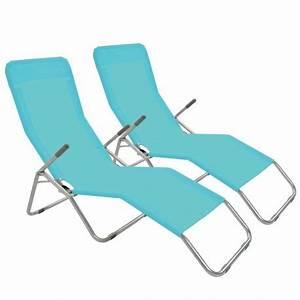 Chaise à Bascule Pas Cher : transat bascule bleu mobeventpro ~ Teatrodelosmanantiales.com Idées de Décoration