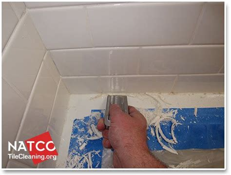 how to clean and remove mold in a ceramic tile shower i