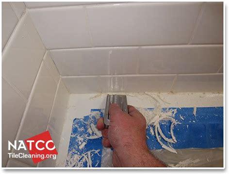clean  remove mold   ceramic tile shower