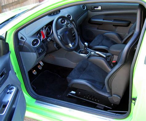 interieur ford focus rs essai ford focus rs 2009 automania