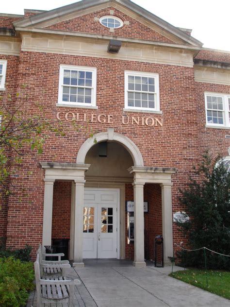 gettysburg college  attic college union building