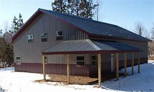 steel buildings with living quarters floor plans click With 60x120 pole barn