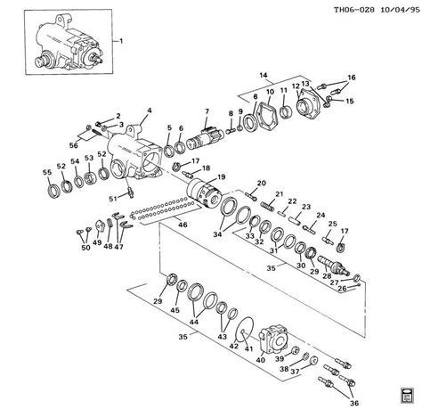 Seal Steering Diagram by Tas650012 Steering Gear Master Seal Kit Ross Trw Tas65