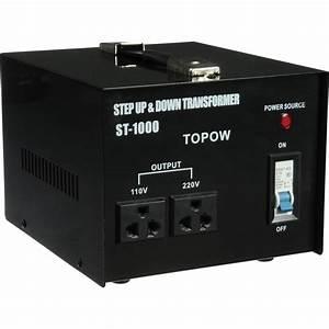 TOPOW ST-1000 Step Up / Down Transformer (1000W) ST1000 B&H