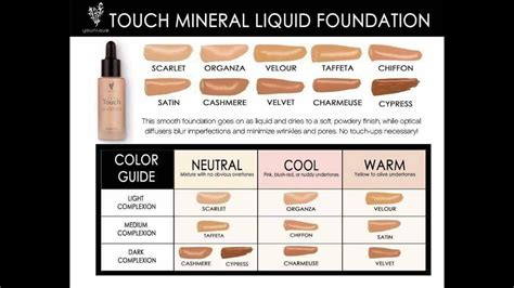 foundation color match how to color match youniques liquid foundation based on