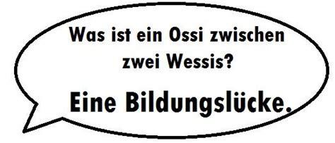 Die Besten Witze über Ossis Und Wessis