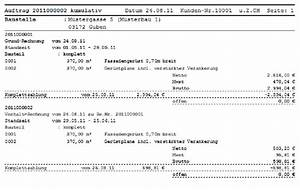 Abrechnung Nach Aufmaß : auftrag ausgabe ~ Themetempest.com Abrechnung