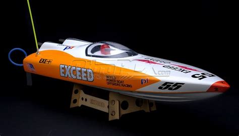 Nitrorcx Boats by Exceed Racing Electric Powered Fiberglass P1 Arpro 700ep