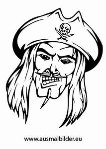 Ausmalbilder Bser Pirat Piraten Malvorlagen Ausmalen