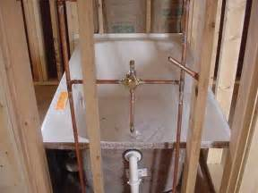 kitchen faucet water pressure the skylark roughed in