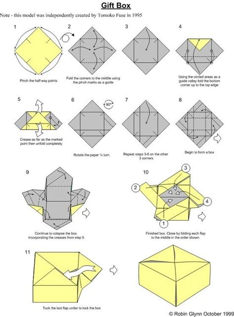 Origami Box Falten by Origami Box Similar To Zhen Xian Bao Thread