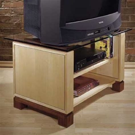 tv stand woodworking plan woodworkersworkshop