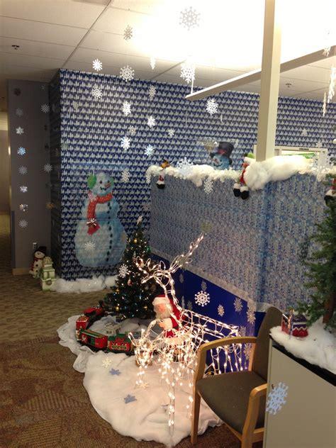 Officechristmasdecoratingcontest