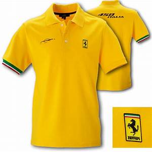 Ferrari Polo Shirt : ferrari short sleeved cotton 458 italia yellow polo shirt ~ Kayakingforconservation.com Haus und Dekorationen