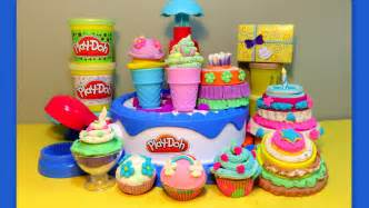 cupcake cakes play doh cake confections playset 40