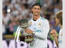 Banned Cristiano Ronaldo enjoys Real Madrid's Spanish