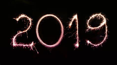 2019 New Year Fireworks Letter For Desktop