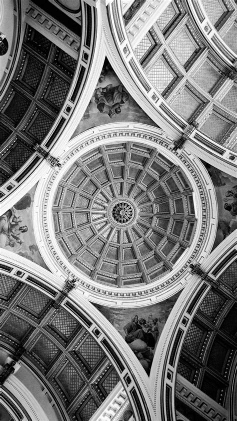 beautiful ceiling architecture iphone  wallpaper hd