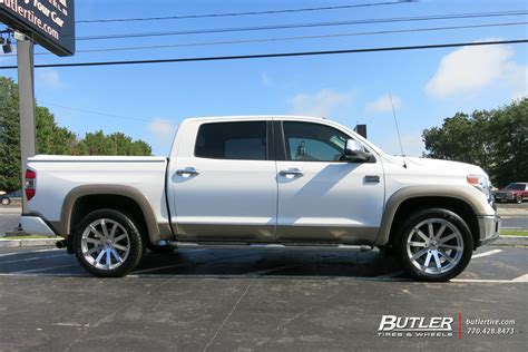 Wheels For Toyota Tundra by Toyota Tundra With 22in Black Rhino Traverse Wheels