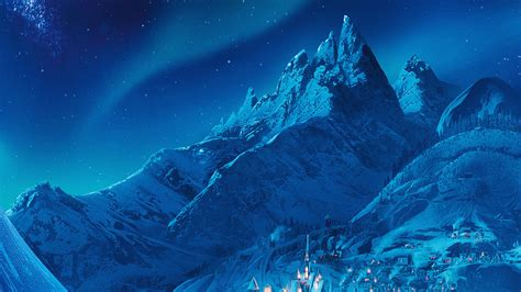 ac wallpaper elsa frozen castle queen disney illust snow