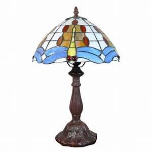 Lampe A Poser Pas Cher : lampe de style tiffany achat vente lampe a poser pas ~ Teatrodelosmanantiales.com Idées de Décoration