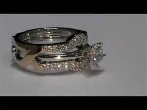 wedding ring enhancer 18k white gold custom design wedding ring enhancer