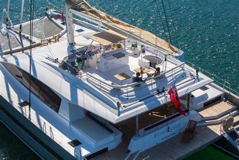 Cat Boats For Sale Long Island by Windquest Jfa Yachts 1st Long Island 85 Cat Megayacht News