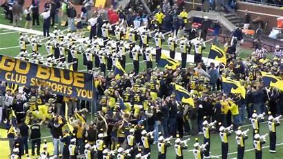 Michigan Football University State Ohio Entrance Hail